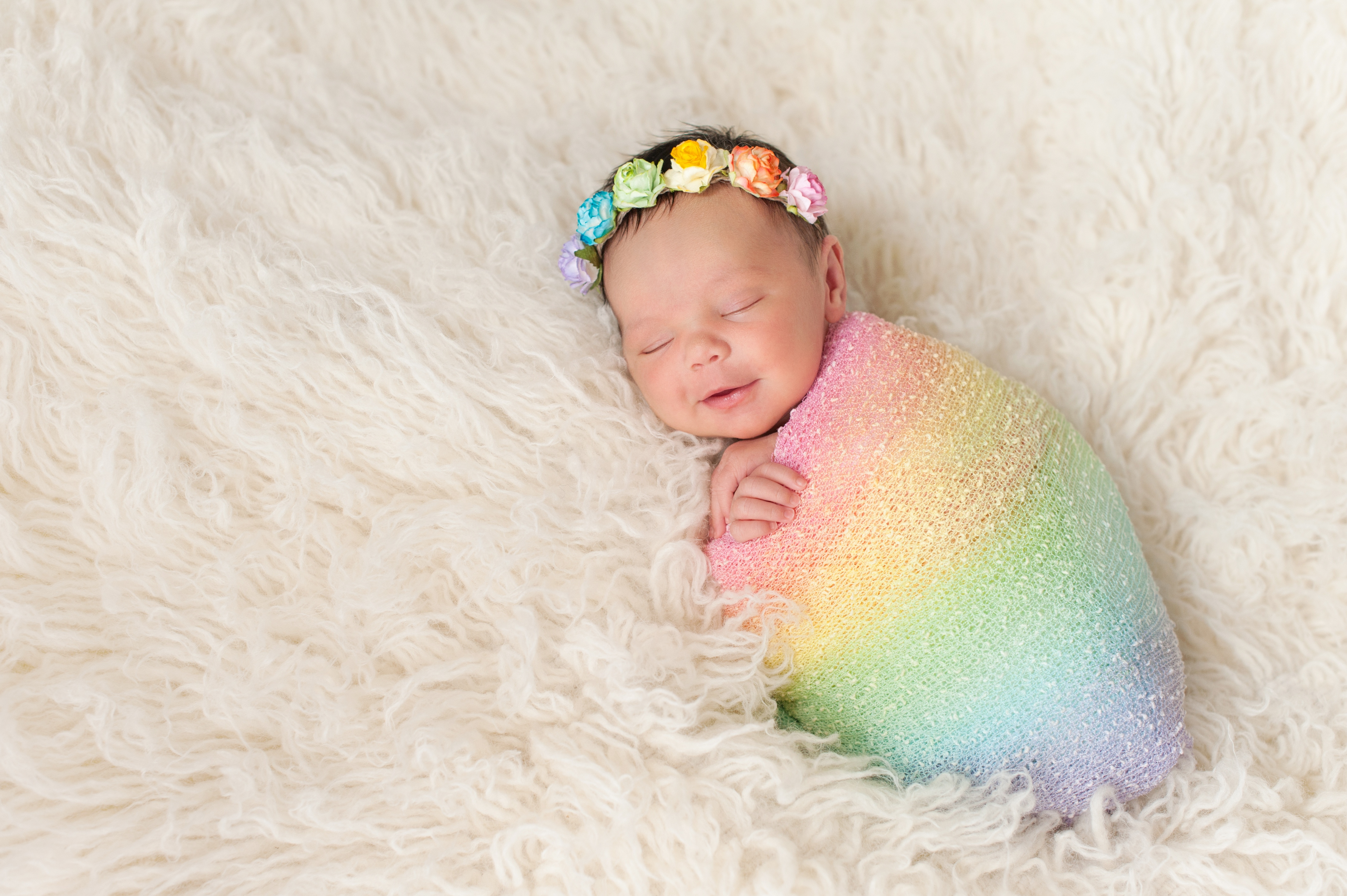 Postpartum 101 with a Rainbow image