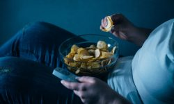 Compulsive Eating and Watching Television image