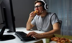 binge eating episode associated with image